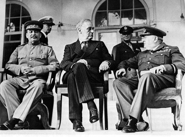 Who were the Big Three in WWII?